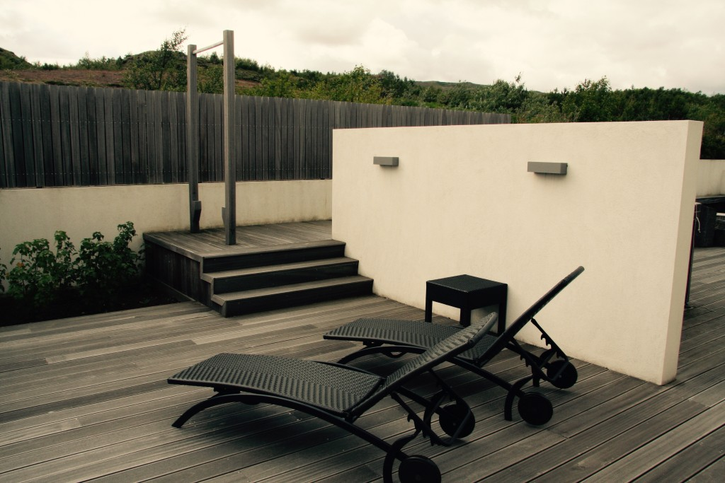 Decking and pull up bar