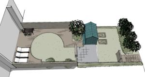 3D sketch, option 3